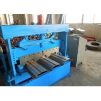 Quality 1219 mm Width Metal Floor Deck Roll Forming Machine with Automatic Hydraulic Cutter for sale