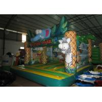 Quality Hot sale inflatable safari park bouncer / elephant inflatable bouncer on sale for sale