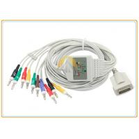 Buy Burdick Eclipse Quinton ECG Electrode Cable With Lead Wires DB 15 Pin Connector at wholesale prices