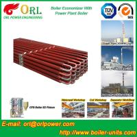 Quality 100 Ton Natural Gas Boiler Economiser In Thermal Power Plant Non Toxic for sale