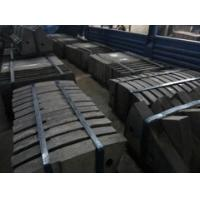 Quality High Cr Mill Liner for SiO2 Mill , Stainless Steel Castings for sale
