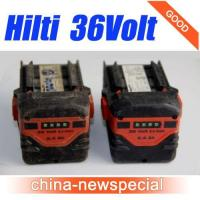 Quality HILTI 36V 2.4Ah CPC B36/2.4 Lithium-Ion Battery Hilti 36volt batteries for sale
