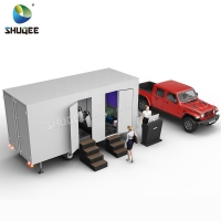 Quality Mobile Simulator Mini 5d Cinema Trailer With Motion Chair Theater for sale