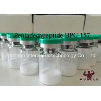 Quality Injectable Muscle Growth Peptides , Pentadecapeptide BPC 157 Peptide CAS 137525-51-0 for sale