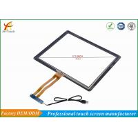 China High Sensitive 17 Touch Panel For Kiosk Glass Touch Digitizer Replacement on sale