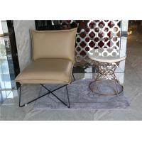 Quality Luxury Customized White Hotel Coffee Table Stainless Steel / Metal Frame With Hotel Chair for sale