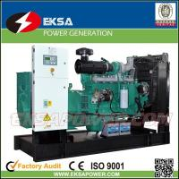 China Hot-selling 250Kva CUMMINS diesel power generator set open types with fuel tank on sale