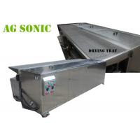 Quality Automatic Dual Tank Ultrasonic Blind Cleaning Machine With Air Suspension for sale