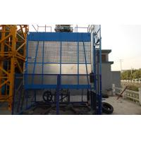 Quality Rack and Pinion Building Material Hoisting Equipment / Construction Lift 1T - 3.2 T for sale