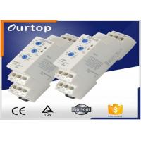 Quality Red Led Multi Function Time Delay Relay , Din Rail Timer Relay 0.05s~60s Time Range for sale