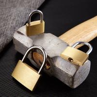 Quality Anti - Rust Brass Combination Padlock Waterproof For Cabinet Doors / Drawers for sale