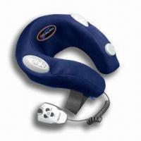 Quality Electronic Neck Massager with Cyber Controller and 100% Terylene Fabric Cover for sale