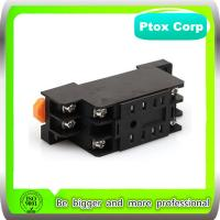 Original OMRON Style PYF08A 8 Pins Din Rail Mount Relay Base for MY2N/HH52P Power Relay for sale