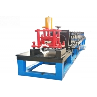 China Automatic Adjust Roller Shutter Door Roll Forming Machine , Door Panels Cold Roll Former on sale