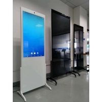 Quality 1920x1080 110W 450cd/m2 Floor Standing Digital Signage For Hotel for sale