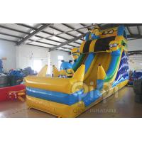 Quality Minion Inflatable Slide With Pool for sale