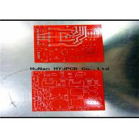 Quality Speacker PCB Display Pcb FR4 Red Black Solde  Double Sided Circuit Board  Consumer Electronics Pcb for sale