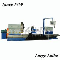 China Heavy Duty Lathe Machine , Conventional Turning Machine For Shipyard Propeller on sale
