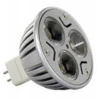 Quality China CE ROHS glass led spotlight dimmable Diameter 50mm wholesale cob 3W gu5.3 MR16 GU10 for sale