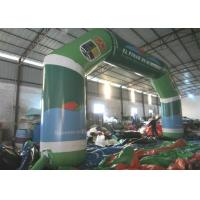 Quality Full Painting Inflatable Race Arch , Advertising Decoration Inflatable Start Finish Arch for sale