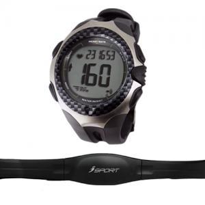 China Waterproof Black Men Wrist Watch Pulse Meter Heart Rate Monitor Watch on sale