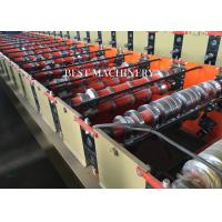 Buy Roofing Cladding Sheet Making Machine / Cold Roll Forming Machine Easy Operate at wholesale prices