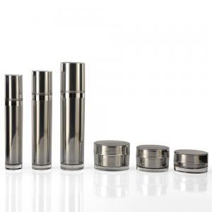 Quality Aluminium Pump Cosmetic Plastic 15ml PET Empty Bottle for sale