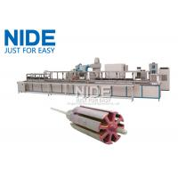 Buy Automatic Armature Powder Coating Equipment / Rotor Powder Coating Oven at wholesale prices