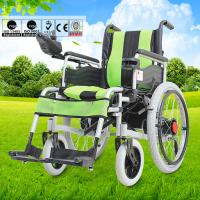 Quality Big Wheel Manual And Electric Folding Wheelchair With Spray Material For Disabled People for sale
