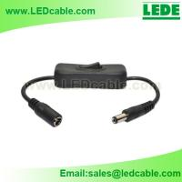 12V Inline DC Cable with On Off Switch for sale