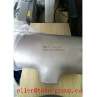 Quality ASTM A 815 & ASME SA815 WPS32550 reducing tee thickness SCH 5S~XXS for sale