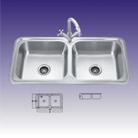Quality Double Bowl Stainless Steel Kitchen Sink for sale