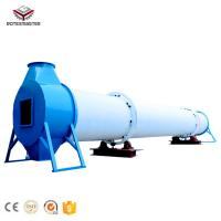 Evaporation 0.96-1.75 t/h Palm Wood Sawdust Wood Chips Rotary Drum Dryer with CE for sale