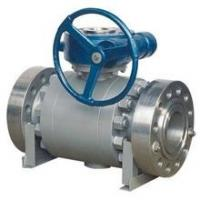 API Forged Steel Trunnion Mounted Ball Valve Float High Pressure Big Size for sale