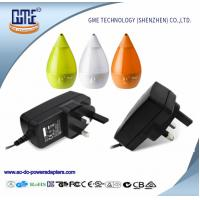 Buy cheap Black Wall Mounted 3 prongplug-in  90-264V 36W 3A 12V Power Adapter with CE GS marks from wholesalers