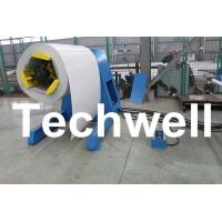 Quality 5 Ton Hydraulic Auto Decoiler / Uncoiler Curving Machine With Uncoiling Speed 0 - 15m/min for sale