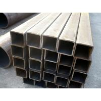 Buy Cr-Mo alloy 45Mn2, 27SiMn Seamless Rectangle Steel Tube, Rectangular Steel Pipe 3 - 13m Length at wholesale prices