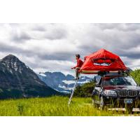 Quality UV 50+ Roof Rack Camping Tent , Jeep Roof Mounted Tent Fashionable Design for sale