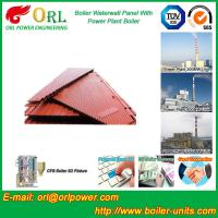 Quality Power Plant Oil Fired Boiler Water Walls Once Through High Heating Efficiency for sale
