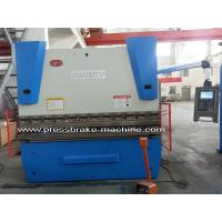 China NC Hydraulic Press Brake , WE67K 50 Ton Press Brake High Efficiency Bending tool on sale