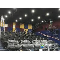 Quality Customized 5D Movie Theater Simulator With Energy - Efficient Motion Seat for sale