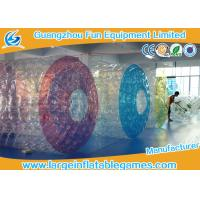 Quality Commercial Polyether TPU Jumbo Inflatable Water Roller Inflatable water ball with CE for sale