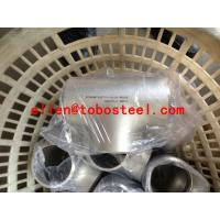 Quality TOBO STEEL Group ASTM A403 WP316L stainless steel tee for sale