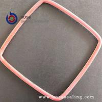 China Square or rectangle round cross shape PTFE FEP silicone encapsulated o-ring gasket on sale
