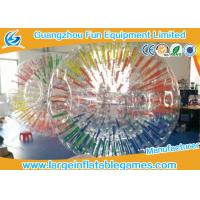 Quality Commercial Interesting Grow Inflatable Zorb Ball , Human Inflatable Hamster Ball For Pool for sale