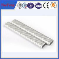 Quality Hot Sale Customized Oval Tube Silver anodizing Aluminium Profiles for sale