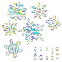 Buy cheap 14 Cut Faces Golden Foil Sew On Rhinestones Various Size For Bags / Purse from wholesalers