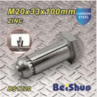 High Quality expansion Anchor Bolts Fastener M20X33X100mm structure steel expansion bolt for sale
