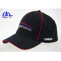 Quality Fitted Baseball Caps With Flat Embroidery Logo for sale