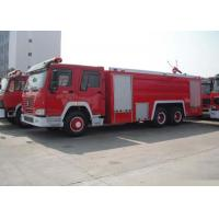 China 6X4 LHD Water Foam Pumper Rescue Fire Truck on sale